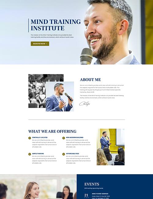 Pagina web para studios